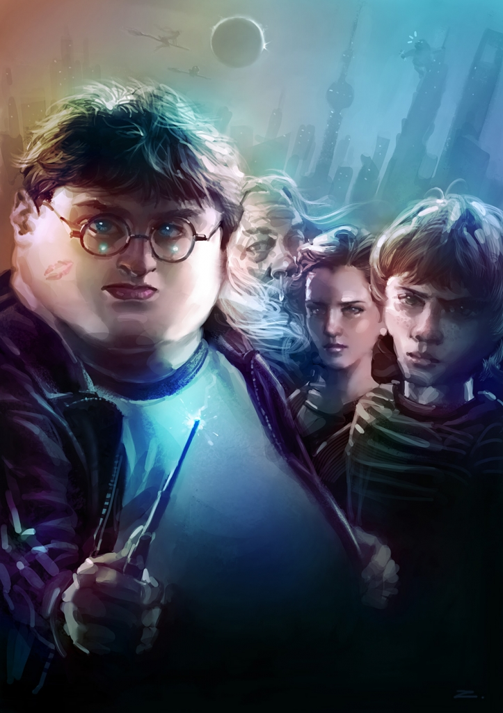 Harry Potter, US edition.