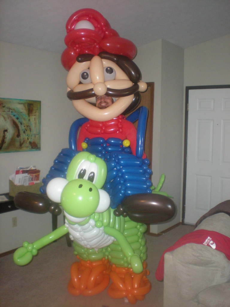 Truly the pinnacle of balloon art.