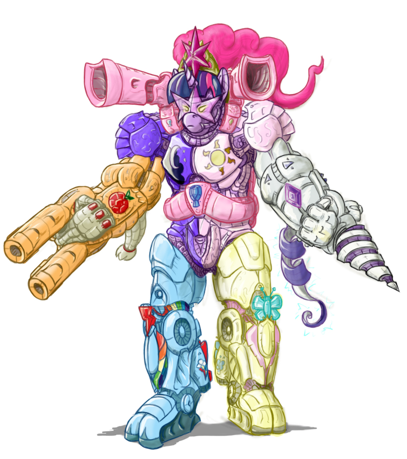 Needs more robot unicorns.