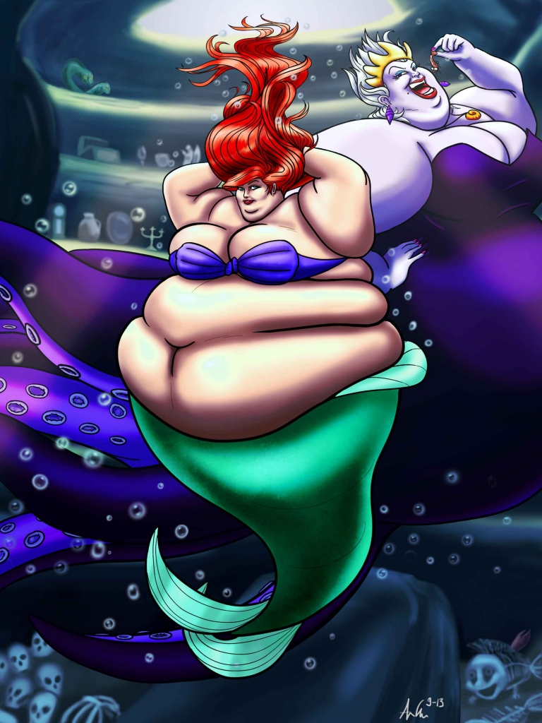 And then Ariel got diabetes.