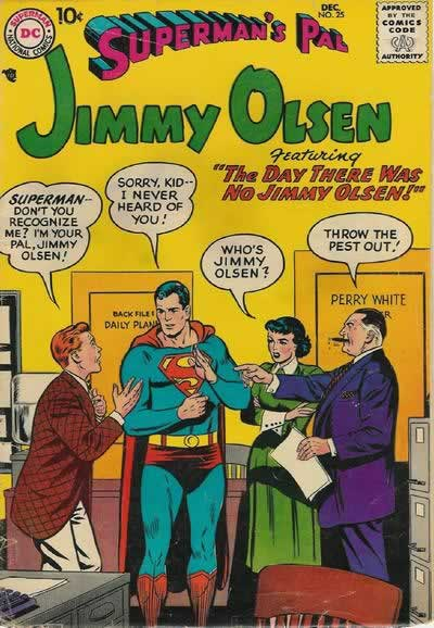"""The Day There Was No Jimmy Olsen!"""