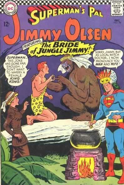 """The BRIDE of JUNGLE JIMMY!"""