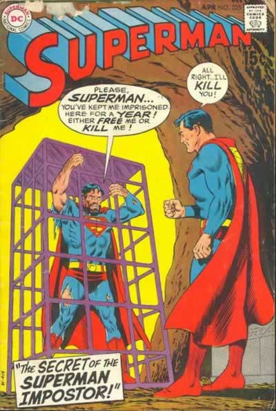 """The Secret of the Superman Impostor!"""