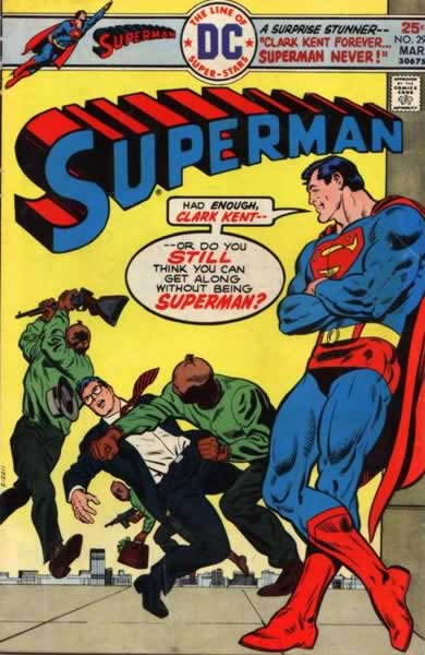 Superman Hires Thugs to Beat Up... Clark Kent.