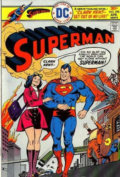 Superman Quits Saving People.