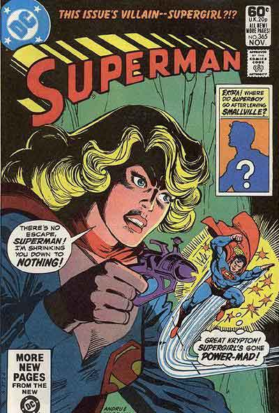 """This Issue's Villain--Supergirl?!?"""