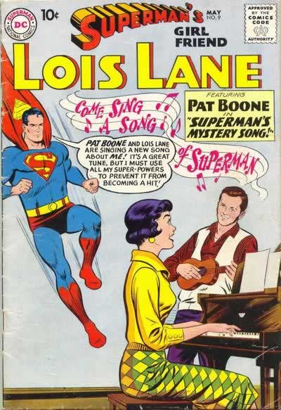 Superman vs. Pat Boone