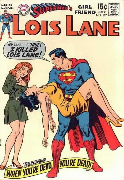 """It's True!  I Killed Lois Lane!"""