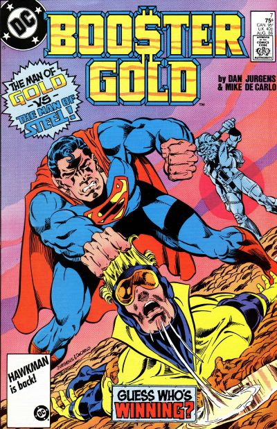 Superman vs. Booster Gold