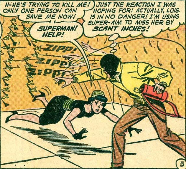 Superman Moonlighting as a Villain.