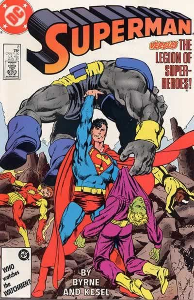 Superman Kills the Legion of Superheroes.