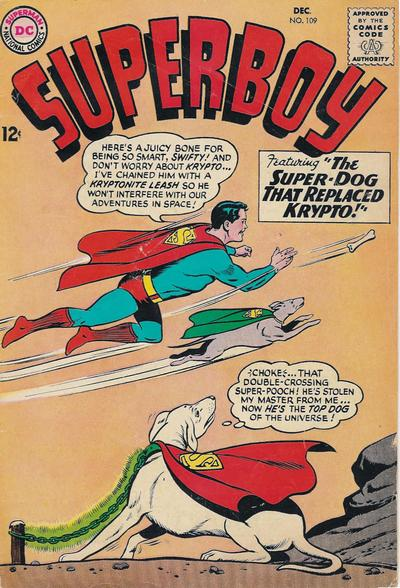 Superboy Dicks With Krypto.