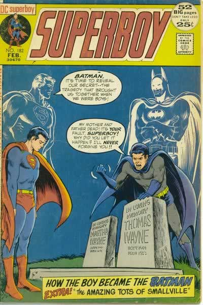 Superboy Kills Batman's Parents.
