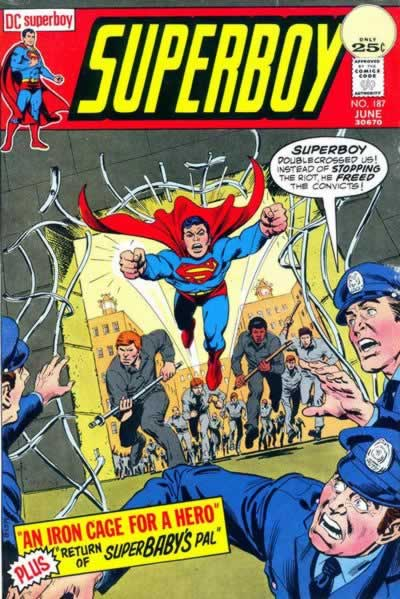 Superboy's Prison Break.