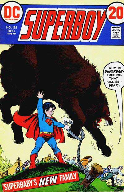 """Why is Superbaby Freeing That Killer Bear?"""