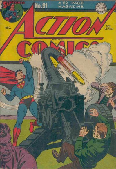 Superman Kills an Artillery Crew.