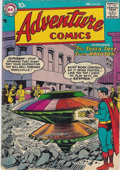 """""""The Super-Toys From Krypton!"""""""