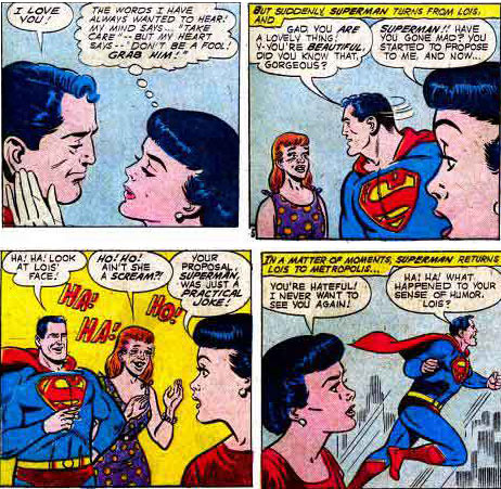 """Ha!  Ha!  What Happened to Your Sense of Humor, Lois?"""