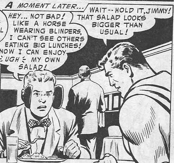 Superman:  Super Diet Coach.
