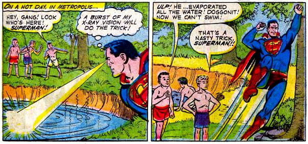 Superman's Nasty Tricks.