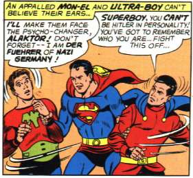 Superboy is Hitler.  Really.