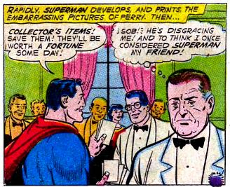 Superman Humiliates Perry.