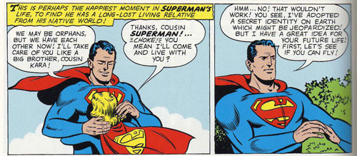 How Superman Treats His Loved Ones.