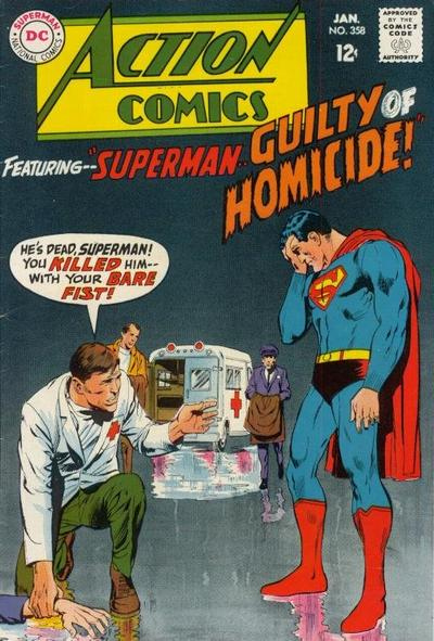 """Superman--Guilty of Homicide!"""