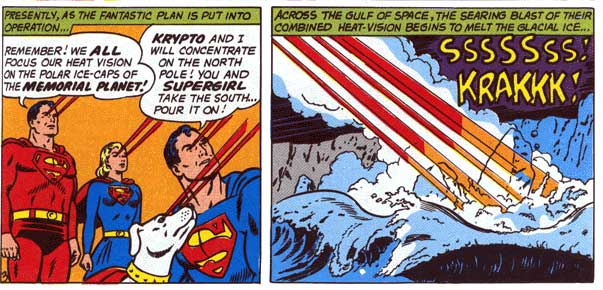 Superman is the Cause of Global Warming.