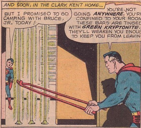 Superman Imprisons His Own Son.