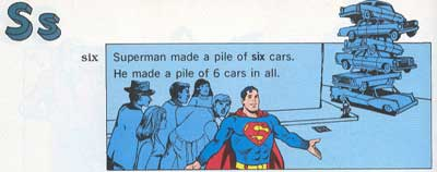 """Superman Made a Pile of Six Cars"""