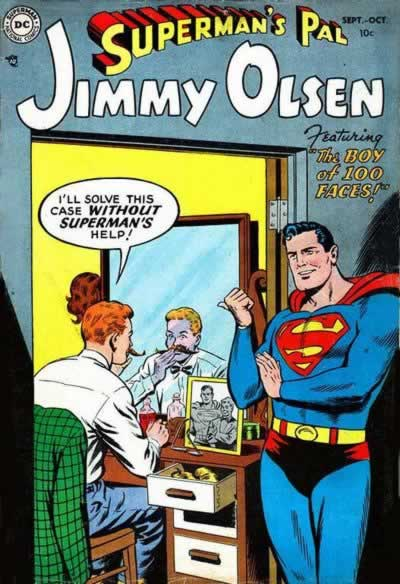 Jimmy Olsen:  Worst Disguise Artist Ever.