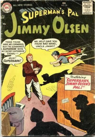 """Superbaby, Jimmy Olsen's Pal!"""