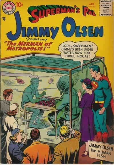 """The Merman of Metropolis!"""
