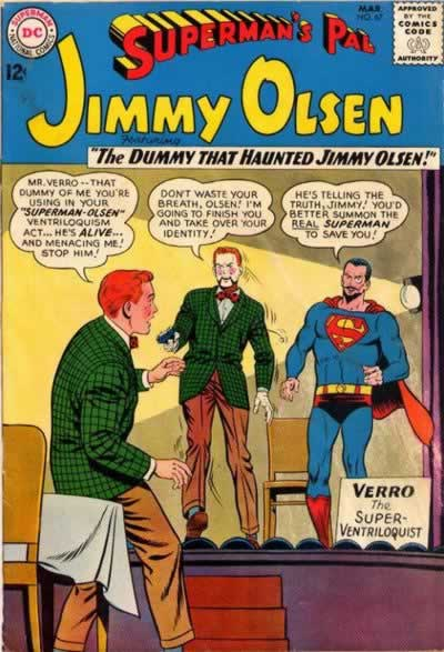 """The Dummy That Haunted Jimmy Olsen!"""