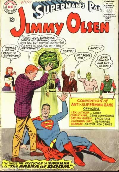"""Convention of Anti-Superman Gang."""