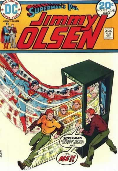 Superman is Apparently Jimmy Olsen.