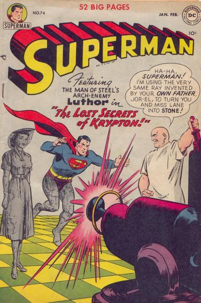 """The Lost Secrets of Krypton!"""