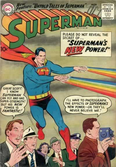"""Superman's New Power!"""