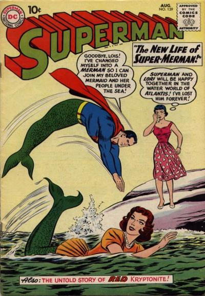 """The New Life of Super-Merman!"""