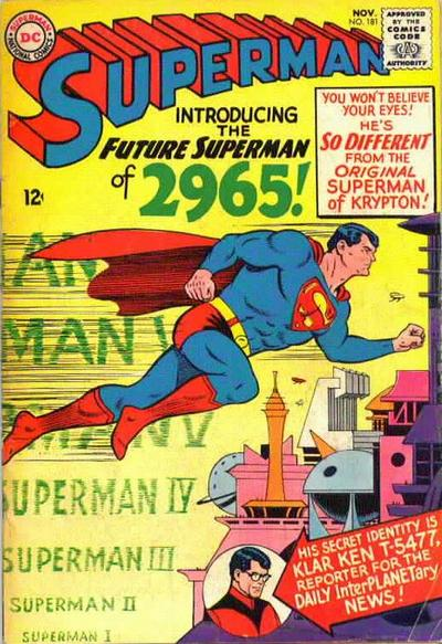 """Introducing the Future Superman of 2965!"""
