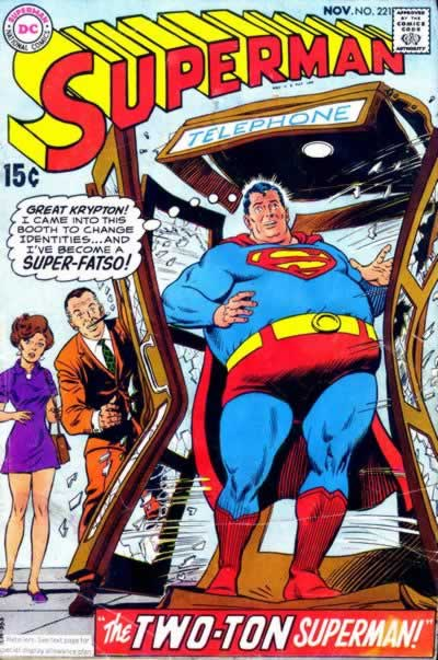 """The Two-Ton Superman!"""