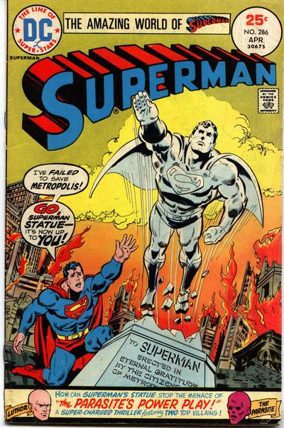 """Go, Superman Statue--It's Now Up to You!"""