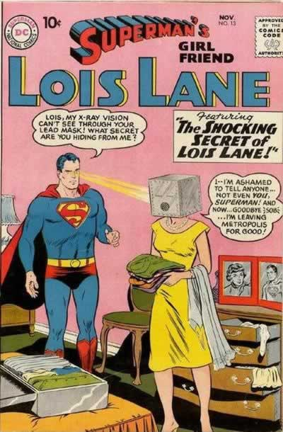 Lois's Head in a Box.