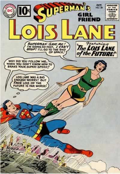Lois and Lana Get Super Powers.