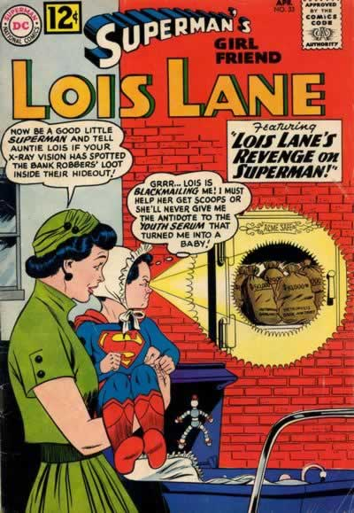 """Lois Lane's Revenge on Superman!"""