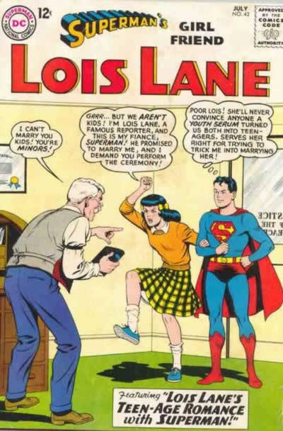 Lois and Superman's Teenage Wedding.