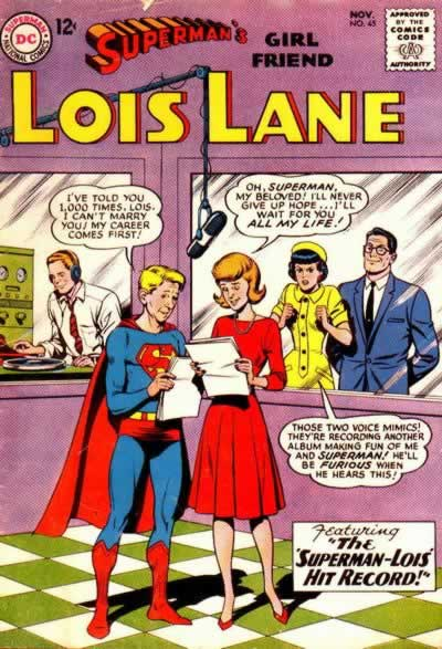 """The Superman-Lois Hit Record!"""