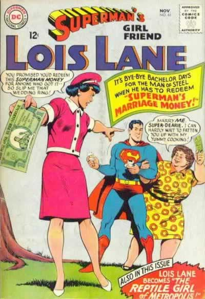 """Superman's Marriage Money!"""
