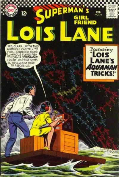 """Lois Lane's Aquaman Tricks!"""